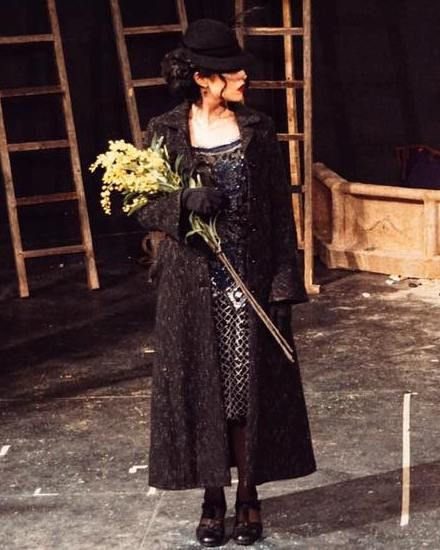 The Yellow Flowers - Actress Di Zhu, The Russian Arts Theater & Studio, New York, United States - 2017