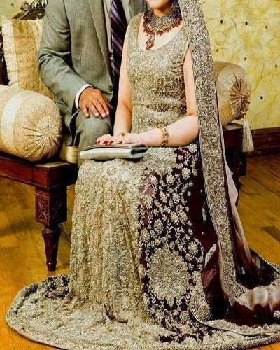 Wedding Season is On and Brides Searching for Trends of Fashion Bridal Walima Dresses Facebook Photo for Pakistani Girls.