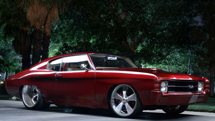 DUB Magazine - 71 Chevy Chevelle SS: Old School Roots, New School Style