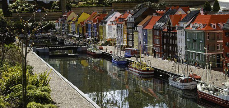 Nyhavn, Legoland, Denmark