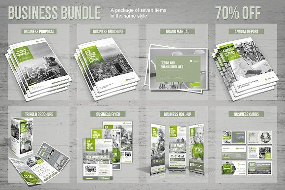Business Bundle by MrTemplater on @creativemarket