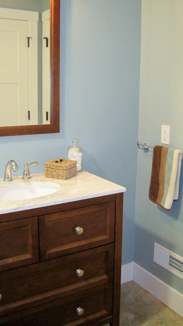 29 best blue/brown bathroom images on pinterest | blue brown