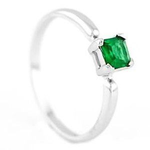Sterling Silver Princess Cut May Emerald Birthstone Child Ring Lgu. $15.95. 4 Millimeter Princess Cut Cubic Zirconia. Band Width Approximately 1.5 Millimeter. Rhodium Plated Sterling Silver Platinum Look. Ring not Sizable