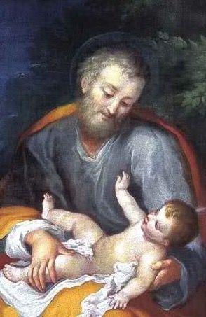 José, contempla a su amado Jesús