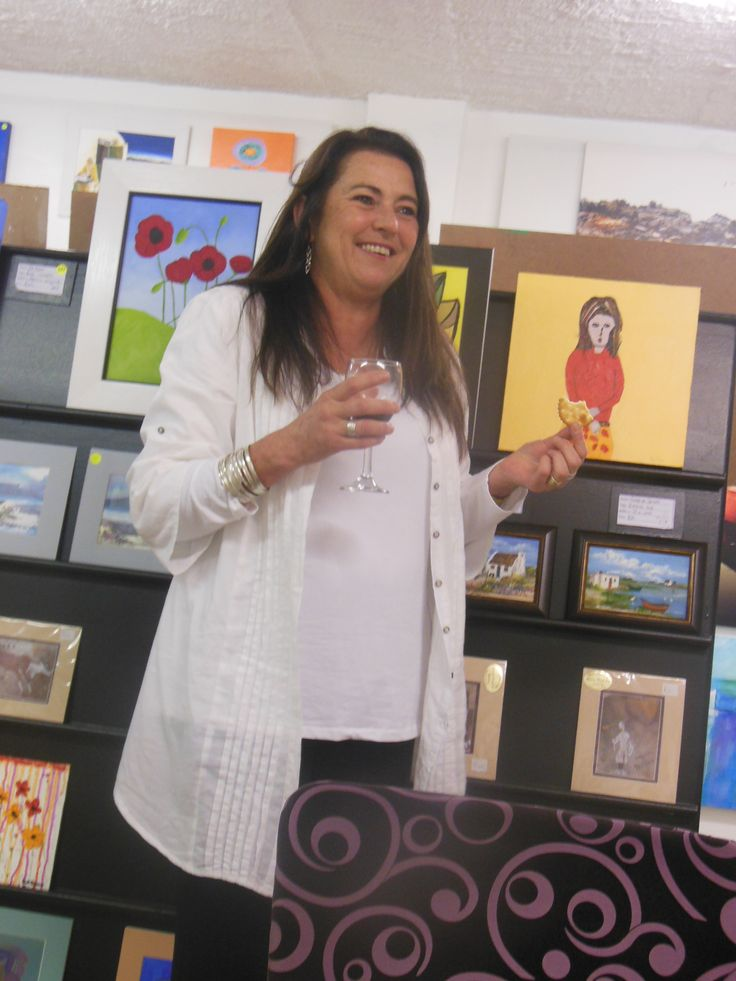 And Cathy purchases more art !!