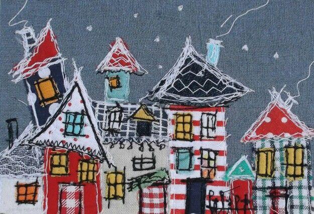 Marieta Stefanova -Free hand machine embroidery