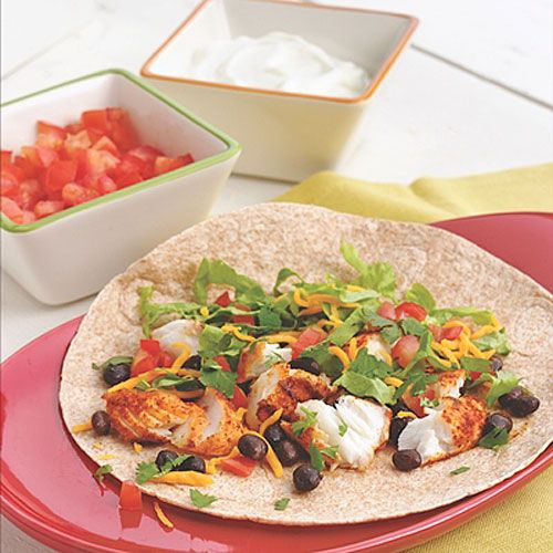 Easy fish taco dinner party recipe tacos cabbages and for Easy fish taco recipes