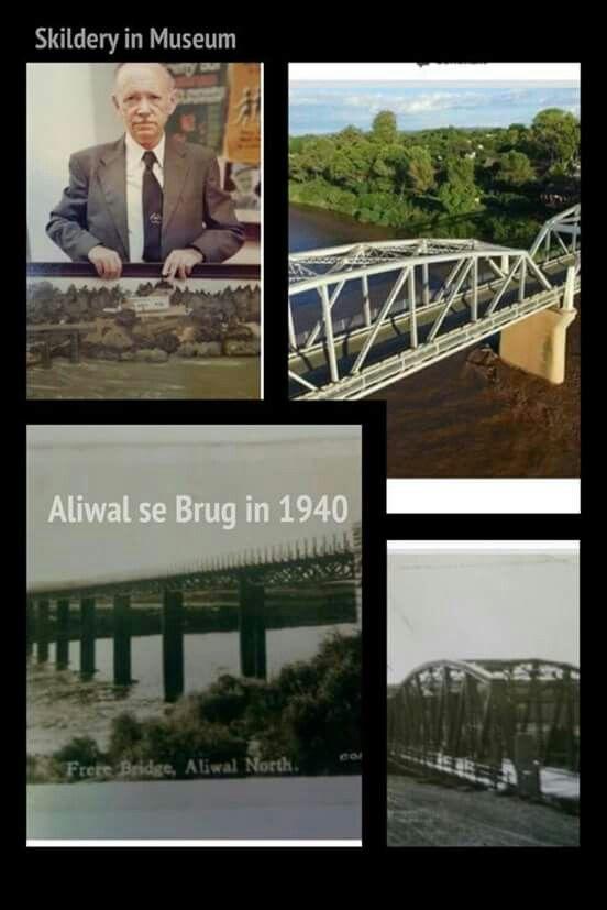 Aliwal Noord se brug 1940. Geopen
