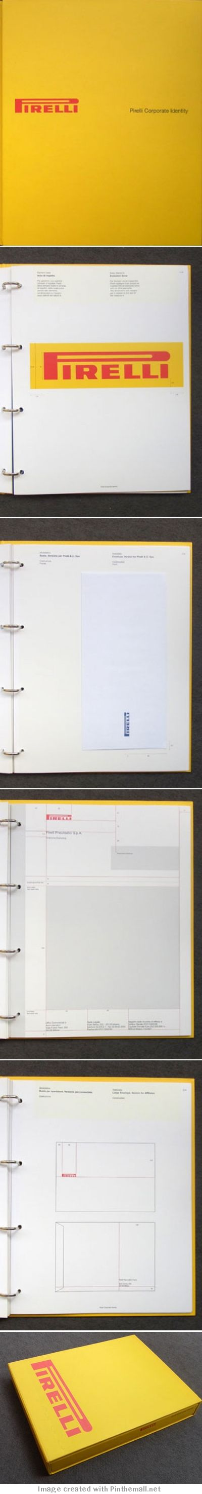 Pirelli Corporate Identity Manual