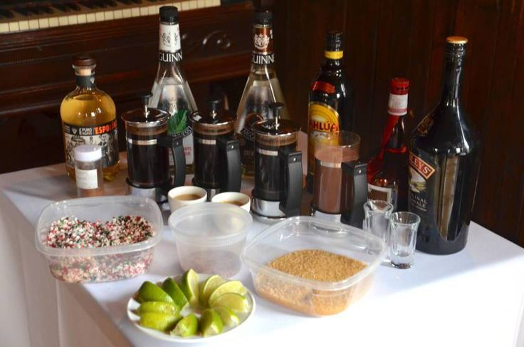 Specialty Coffees Bar Tending Class