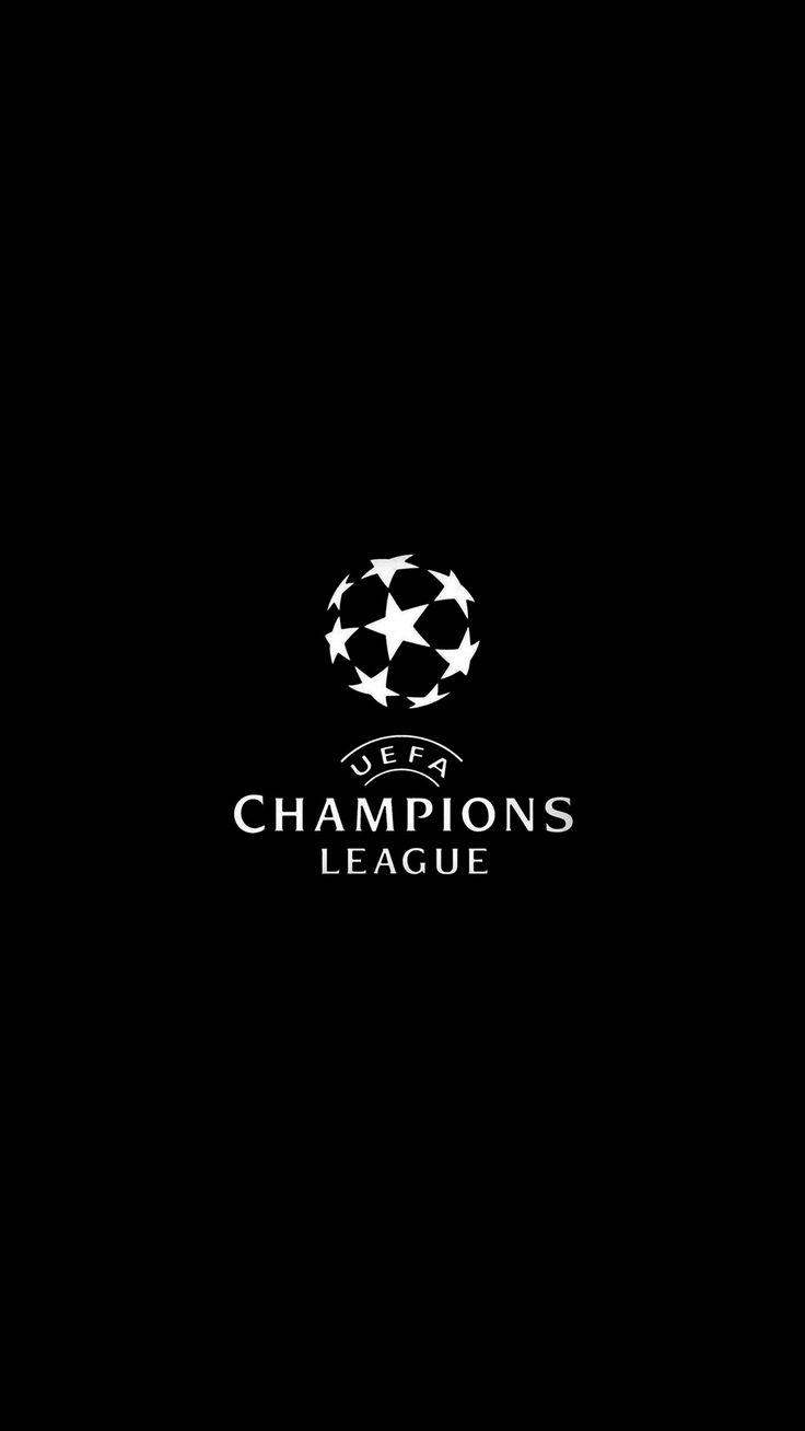 Champions League Europe Logo Soccer Art Illustration Dark Bw #iPhone #6 #wallpap…