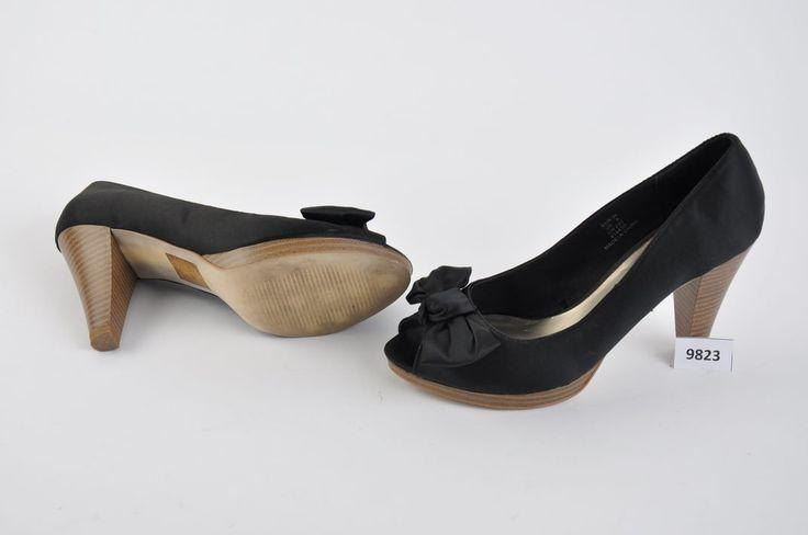 Dámské černé boty na podpatku H&M | Aukro archiv