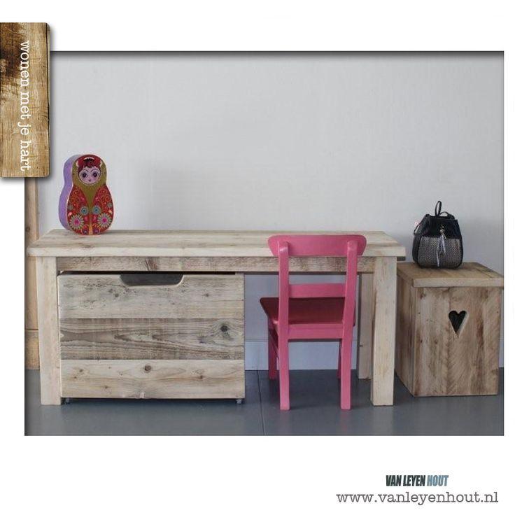 Houten open speelgoedkist | VanLeyenhout-webshop