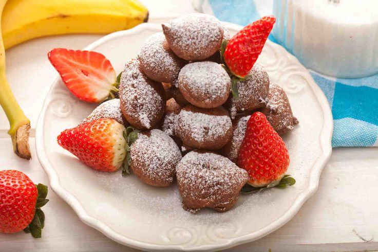 Pączki bananowe #smacznastrona #paczki #poradytesco #paczkibananowe #banan #pycha #tlustyczwartek