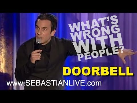 Sebastian Maniscalco explains why answering the doorbell is VERY different now than when he was a kid – Rare