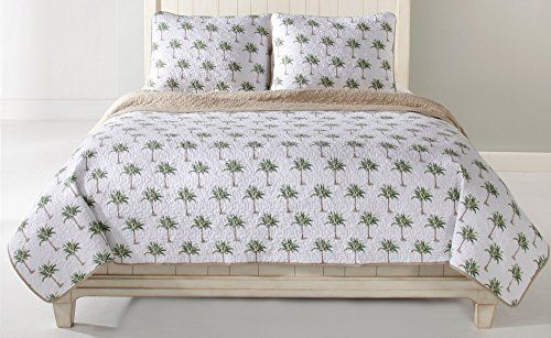 Palm Tree Quilt Sets: 48 Best Palm Tree Bedding Images On Pinterest