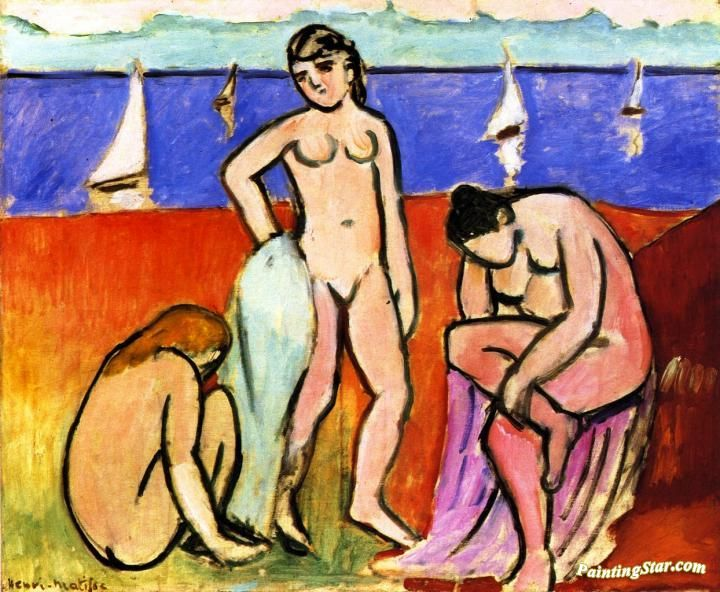 Henri Matisse - Three Bathers, 1907 - The Minneapolis Institute of Arts
