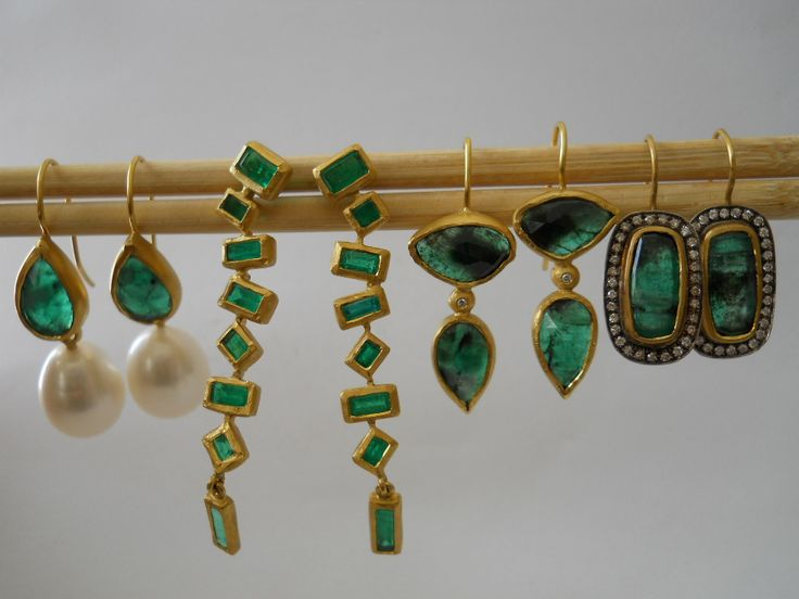 Pamela Harari's Symphony in Emeralds & Diamonds