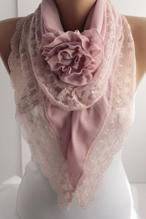 Black Friday Special Rose Scarf Pink Victorian Shawl Scarf Rose Lace Scarf  Winter Spring Christmas gift Fashion Women Accessories For Her