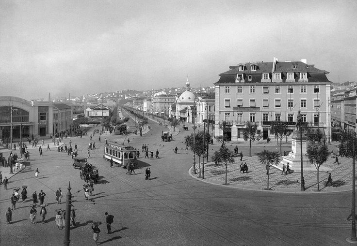 Praça Duque da Terceira - 1928