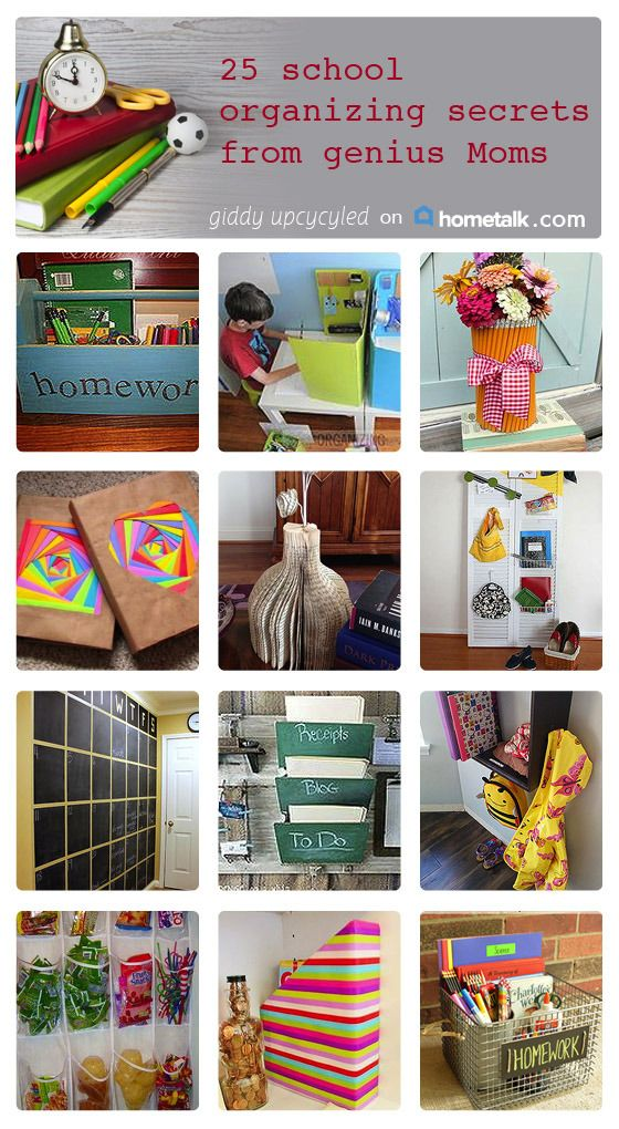 25 school organizing secrets that every mom needs to know!