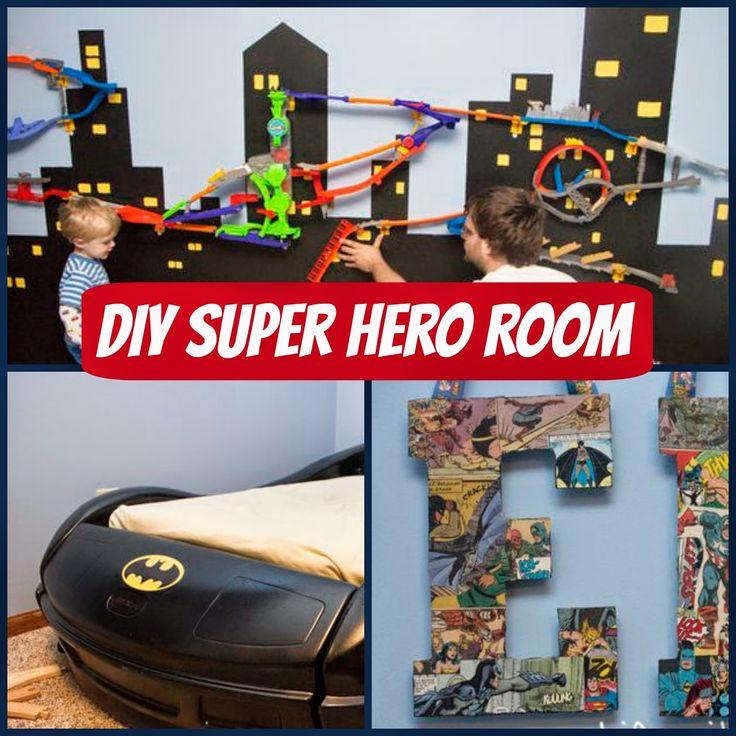 Boys Superhero Room Decor: 98 Best Super Hero Kids Room Images On Pinterest