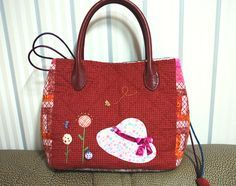 Lunch Bag Tutorial Sewing. Сумка для обеда  http://www.handmadiya.com/2015/08/lunch-bag-tutorial-sewing.html