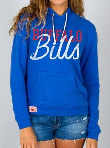 Junk Food Clothing - NFL Buffalo Bills Pullover Hoodie - Buffalo Bills - NFL - Collections - Womens