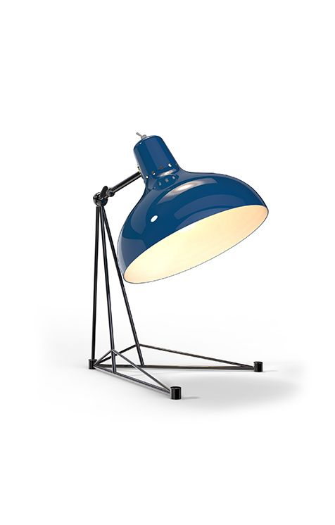 A vintage piece of art, functional and well structured, Diana is ideal for side tables and office playful desks | Discover more table lamps for bedroom: http://masterbedroomideas.eu