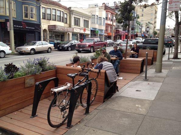 Parklet in SF
