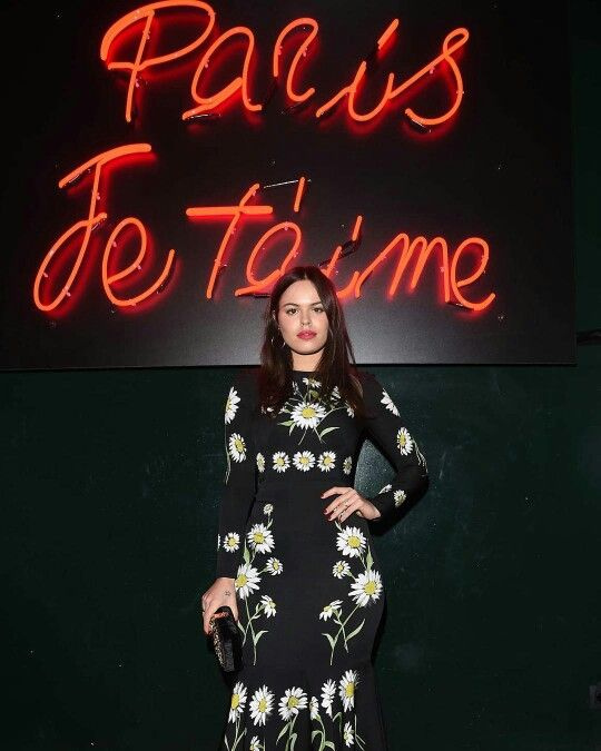 dolcegabbana @atlantabean gorgeus in #DGdaisy collection at #DGlovesParis party.