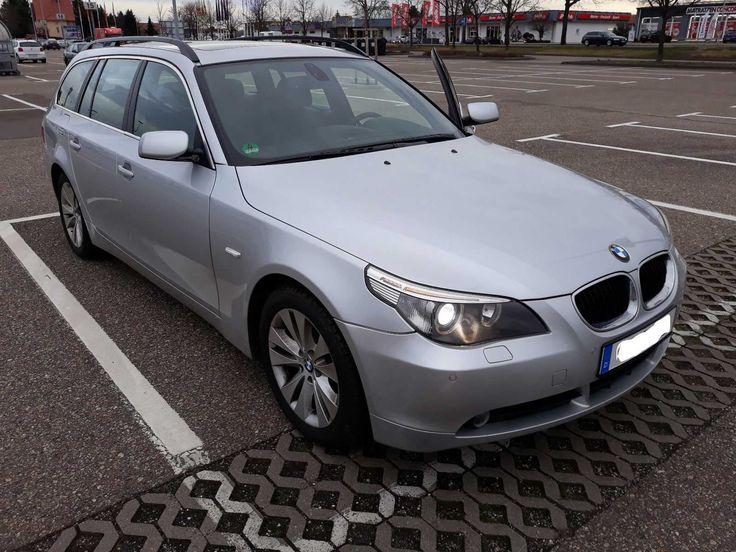 BMW 525 D 525D Touring E61 TÜV bis 2019 Navi Panoramadach LCI Facelift