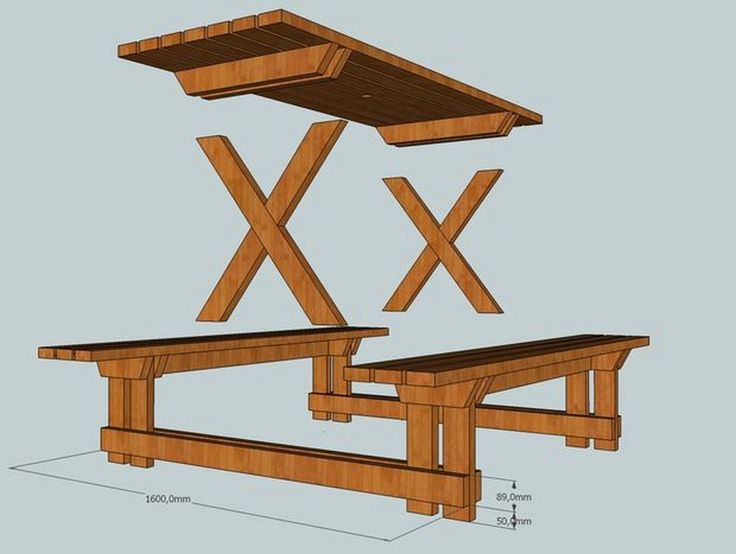 Do-It-Yourself Picnic Table Tutorial   Your Projects@OBN