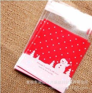 10 Шт./лот Рождественская елка снеговик рождественские украшения подарок сумка для небольшой подарок конфеты натал навидад Z281-10PC