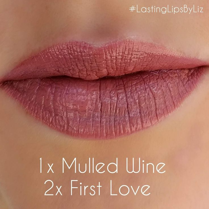 Mulled Wine and First Love LipSense layered ❤️ LipSense is a long lasting kiss-proof smudge-proof and waterproof lip color.  Distributor # 208772 www.facebook.com/groups/lastinglipsbyliz @lastinglipsbyliz