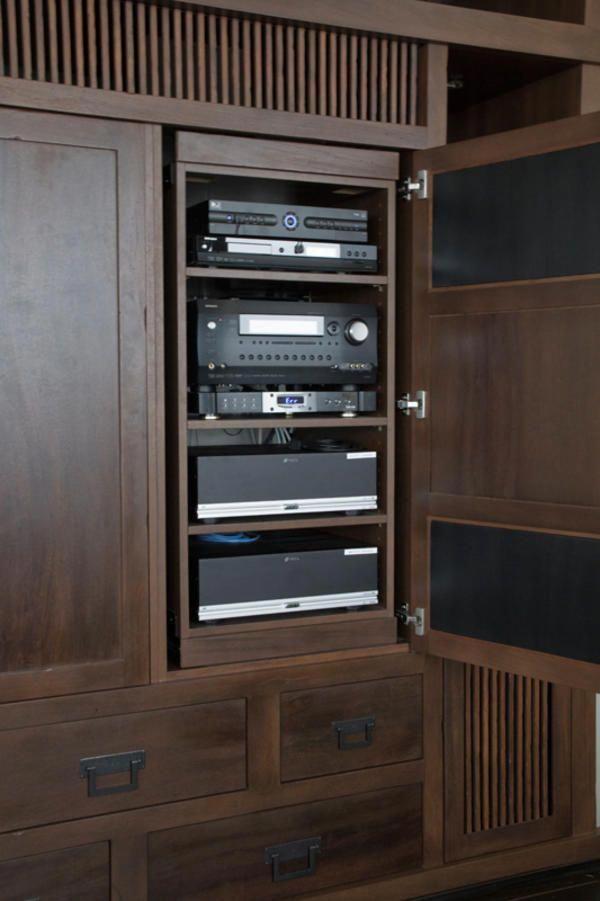 Home Theater Racks Cabinets Design And Ideas Hometheaterinstallation
