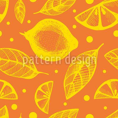 Citrus Leaves Repeating Pattern Repeating Pattern by Elena Alimpieva at patterndesigns.com