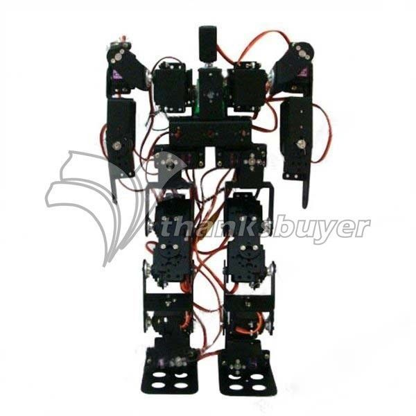17DOF Biped Robotic Educational Robot Humanoid Robot Kit Servo Bracket #thanksbuyer