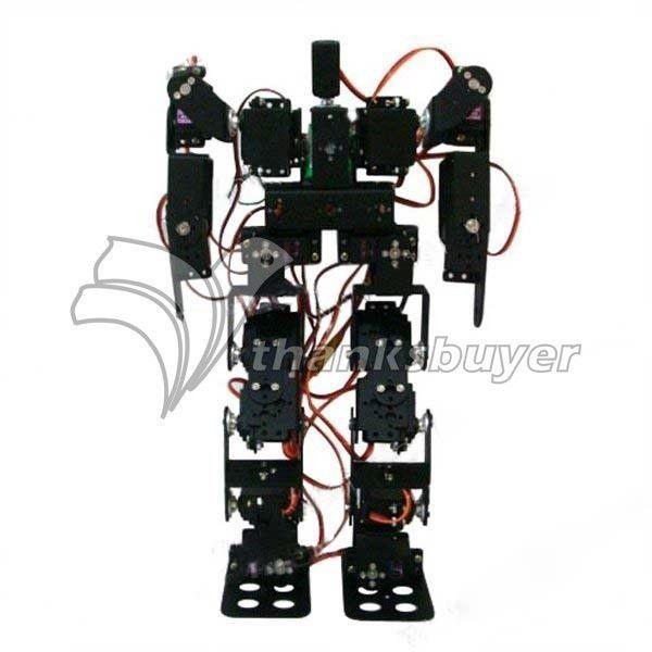17DOF Biped Robotic Educational Robot Humanoid Robot Kit Servo Bracket #thanksbuyer