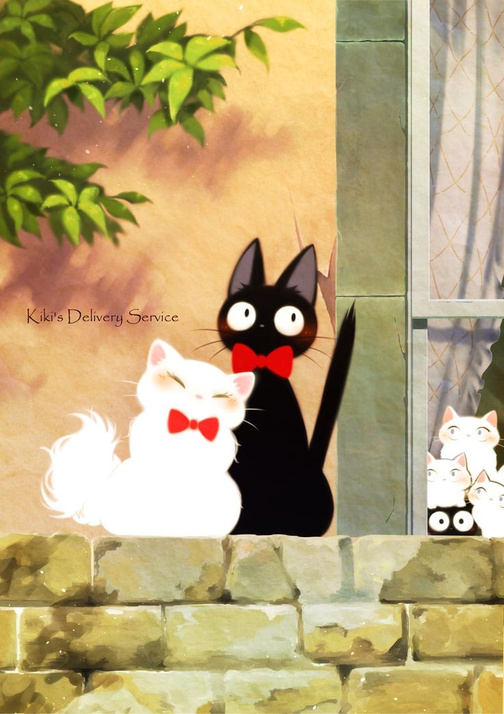 Kiki's Delivery Service - This is the cutest picture!