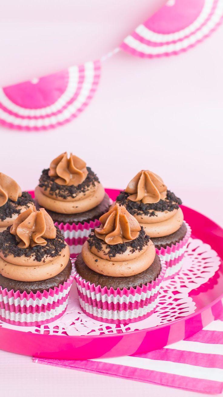 Rugby Stripe Cupcake Liners Pink Classic Cupcake Recipe