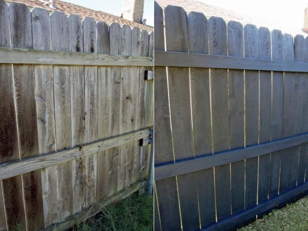 89 best fence ideas images on pinterest Fence paint colors ideas