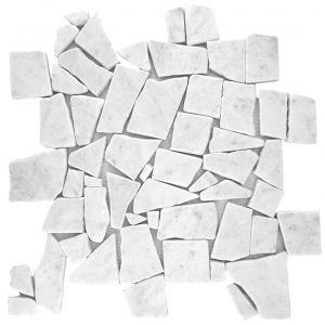 Ariston White mozaika_łazienkowa_mosaic_athena_czarna_biała_kamienna_mosaico_warszawa