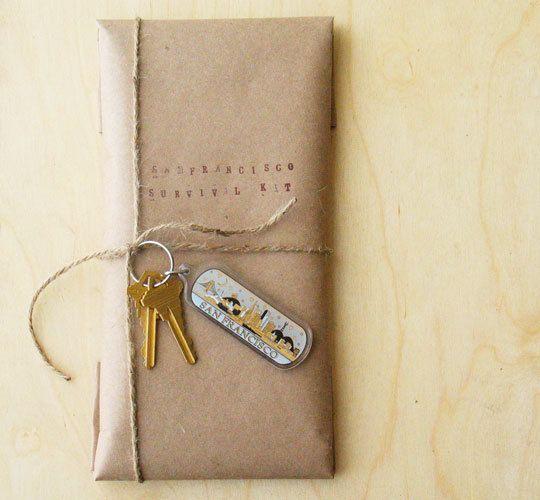 house guest survival kits