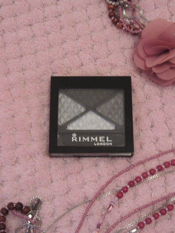 Palette fards à paupière Rimmel noir/gris