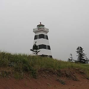 10. West Point Lighthouse, O'Leary, P.E.I. Rumored to be haunted.