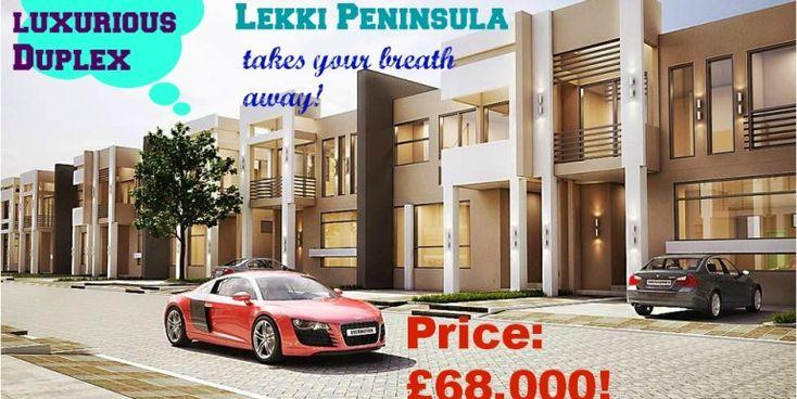 Grenadines, Lekki peninsula luxury 3 bed Terraces Duplexes  via MercyHomesUK