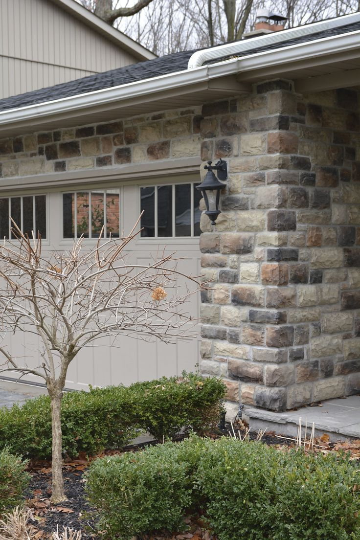 136 Best Exterior Stone Design Images On Pinterest Faux Stone Panels Natural Stone Veneer And