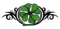 celtic four leaf clover tattoo designs - Google Search