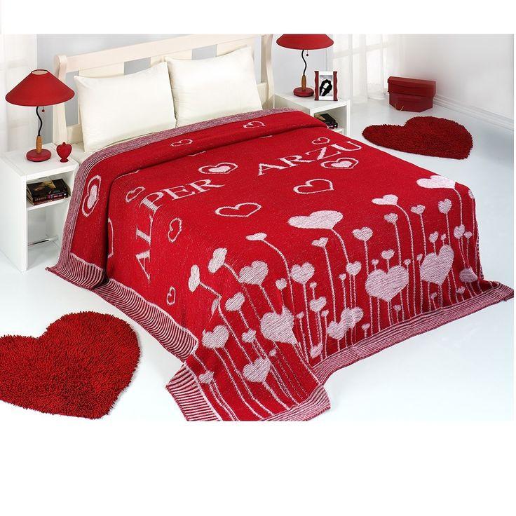 kişiye özel hediye arayanlar için triko örme battaniye.